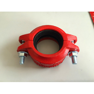 ASTM A536 Grooved Coupling, 80MM, Epoxy Painting