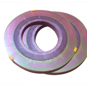spiral wound gasket and flange. asme b16.20 spiral wound gasket, rf, dn150 gasket and flange -